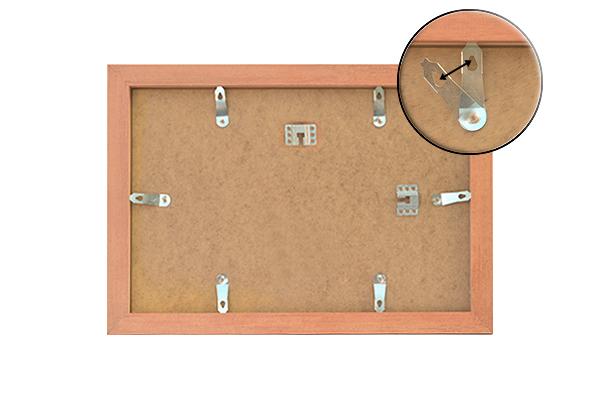 bilderrahmen fotorahmen posterrahmen in alu gebuerstet 18 verschiedenen gr en. Black Bedroom Furniture Sets. Home Design Ideas